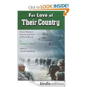 For Love of Their Country: Thomas J. Morrow:  Kindle Store