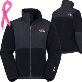 NWT♥ Black North Face Pink Ribbon Breast Cancer Denali Fleece