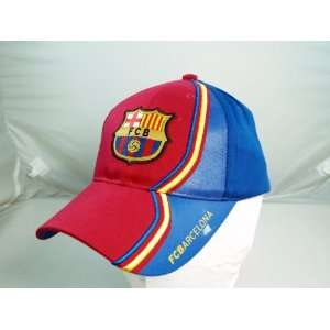 FC BARCELONA OFFICIAL TEAM LOGO CAP / HAT   FCB031 Sports
