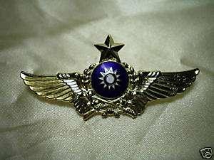 ROC Taiwan Army Pilot wing pin