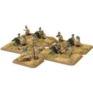 French Tiraills Machine Gun Platoon Toys & Games