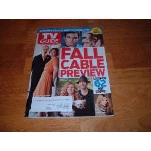 Fall Cable Review The Scoop on 62 Hot Shows. TV Guide magazine Books