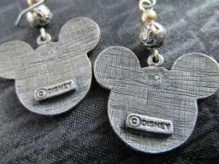 Vintage LOT of DISNEY charm bracelet & MICKEY MOUSE earrings