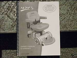 HOVEROUND TOP OF THE LINE ELECTRIC WHEELCHAIR 2009/10