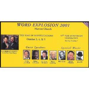 Word Explosion 2001 Harvest Church [The Year of Manifestations and