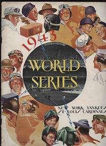Series Program St. Louis Cardinals @ New York Yankees VGEX