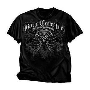 Club Red Bone Collector Tee Shirt Black Xlarge Sports