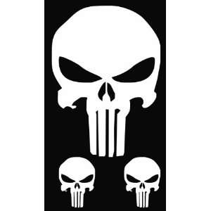 Punisher Skulls Vinyl Decal Sticker