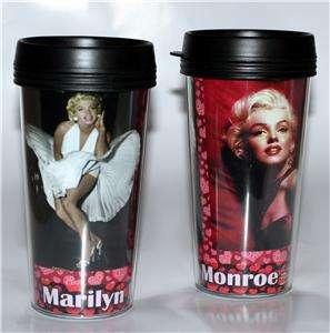 MARILYN MONROE Hollywood Star and Legend 16 oz TRAVEL MUG New