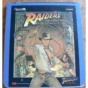 Raiders of the Lost Ark CED VideoDisc Paramount Home Video