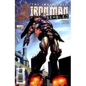 The Invincible Iron Man 89 Disassembled RICKETTS