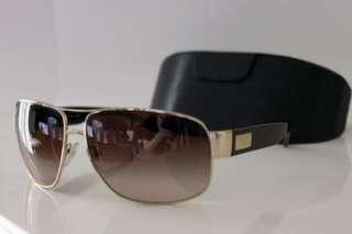 PRADA Mens Brown Executive Designer Aviator Sunglasses SPR 61L RRP £