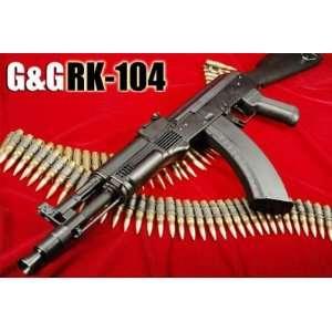 AEG Electric G&G RK104 AK 47 Assault Rifle FPS 285, Metal