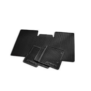 2010 2012 Ford F 150 All weather Vinyl Floor Mats   Black