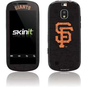 San Francisco Giants   Solid Distressed skin for Samsung