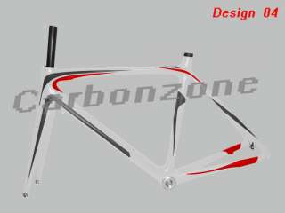 Carbonzone full Carbon frame&fork&700C Road bicycle&bike&paint color