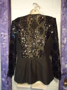 Evening Jacket ~ RICKIE FREEMAN for TERI JON NITES ~ Size 14