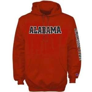 Champion Alabama Crimson Tide Heritage Crimson Hoody Sweatshirt