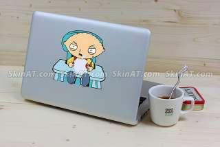 Baby Macbook Pro Air Vinyl Sticker art Decal humor Skin