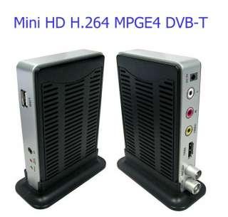Mini DVB T TV Box Digital Receiver HD H.264 MPEG4 HDMI