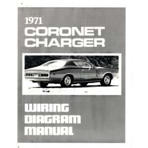1971 DODGE CHARGER CORONET Wiring Diagrams Schematics