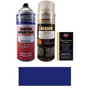 12.5 Oz. Dark Ming Blue Metallic Spray Can Paint Kit for 2010