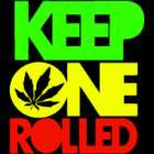 Rasta Keep One Rolled Taylor Gang Wiz Khalifa   Decal