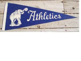 1940S PHILADELPHIA ATHLETICS PENNANT