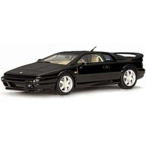 1996 Lotus Esprit V8 Black 1/43 Diecast Car Model Autoart