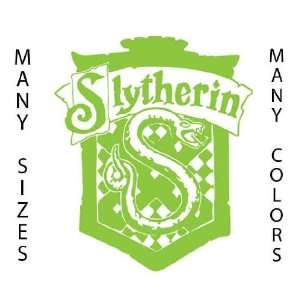 23 Tall   Slytherin   Lime Green   Harry Potter Huge Custom Art Vinyl