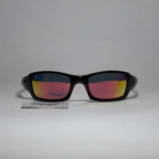 New Walleva Polarized Fire Red + Ice Blue Lenses For Oakley Fives
