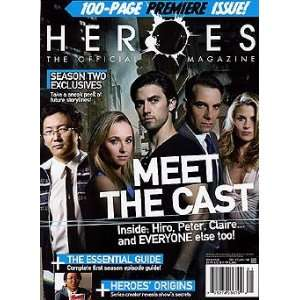 Heroes The Official Magazine Issue # 1