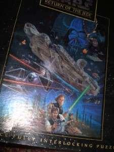 Vintage Milton Bradley Star Wars Return of the Jedi 550interlocking