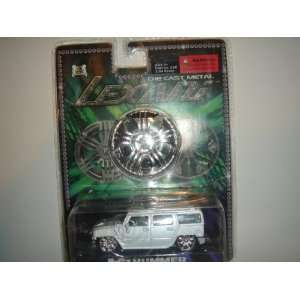 Lexani Die Cast Metal 164 Scale H2 Hummer White Toys
