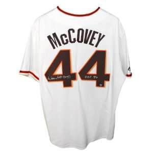 Willie McCovey San Francisco Giants Autographed Cream