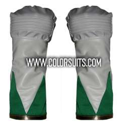 Power Rangers Gloves Cuffs Synthetic Leather (Larger Size)