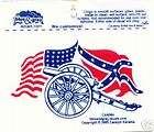 CONFEDERATE REBEL FLAG SELF ADHESIVE VINYL DECAL NEW items in 1 Stop