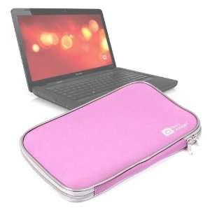 DURAGADGET Lightweight Pink Neoprene Laptop Case For Compaq CQ56 100
