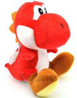 Super Mario Bros Red YOSHI Soft Plush Toy Doll^MT109