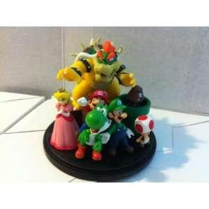 Super Mario Bros.2  3 inch Deluxe Figures Set Toys