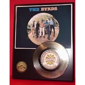 Byrds 24kt Gold Record LTD Edition Display ***FREE PRIORITY SHIPPING