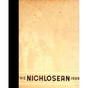 (Reprint) 1959 Yearbook Nicholas County High School, Summersville