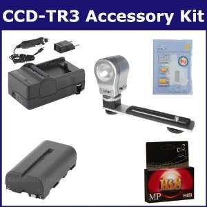 Sony CCD TR3 Camcorder Accessory Kit includes HI8TAPE Tape