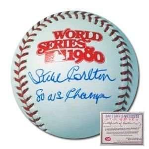 Steve Carlton Philadelphia Phillies Hand Signed Rawlings MLB Baseball