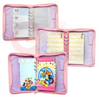 Disney Mickey & Minnie Mouse Pink Schedule  Diary Book