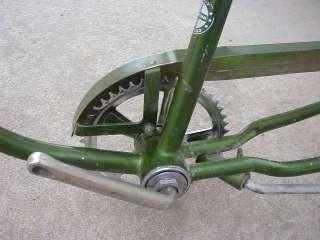 Vintage Schwinn Stingray Sting Ray Bike Frame w Chainguard Crank Seat