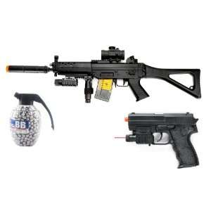 Electric SIG 552 Assault Rifle FPS 250 w/ Red Dot Sight