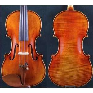 Size Violin antique Style d Z Strad Violin #325 Musical Instruments