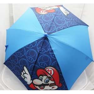 Licensed Super Mario with Mushroom Blue KIDS Handle