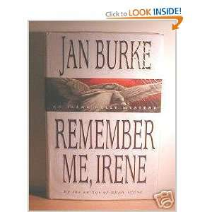 Remember Me, Irene (Irene Kelly Mystery) (9780749903695